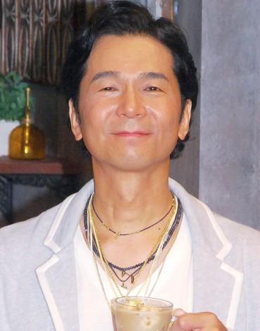 DREAMS COME TRUE・中村正人=『ドリカムアイスコーヒーカフェ featuring バリスタ』オープニングイベント (C)ORICON NewS inc.