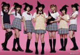 フジテレビ系ドラマ『山田くんと7人の魔女』で魔女たちを演じる(左から)松井愛莉、大野いと、小林涼子、西内まりや、トリンドル玲奈、美山加恋、小島藤子