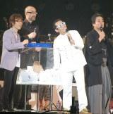 ソロ公演4000回を達成したさだまさしの祝福にゲストが集結!=さだまさし日本武道館コンサート (C)ORICON NewS inc.