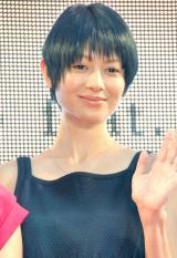 UULAドラマ『I LOVE YOU』配信記念野外イベントに出席した真木よう子 (C)ORICON NewS inc.