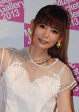 「ミュージックジャケットギャラリー2013」トークイベントに登場した中川翔子 (C)ORICON NewS inc.