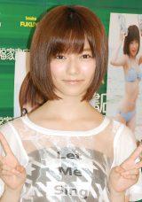 1st写真集『ぱるる、困る。』発売記念イベントに出席した島崎遥香 (C)ORICON NewS inc.