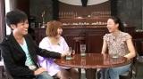 (左から)名倉潤、スピリチュアル女子大生CHIE、浅田真央選手(C)テレビ東京