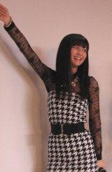 メンバー最年長でリーダーの宮崎由加(19)。昨年『フォレスト アワード NEW FACE オーディション』入賞をきっかけにデビュー。「今日はお客さん全員の顔が見えました!」(C)De-View