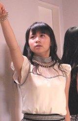 歌やダンスの技術に定評のある高木紗友希(16)。09年からハロプロエッグ(研修生)に。(C)De-View