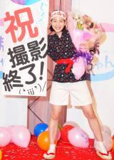 『あまちゃん』ついにクランクアップ…! 撮影終了に笑顔をみせるヒロイン・能年玲奈 (C)ORICON NewS inc.