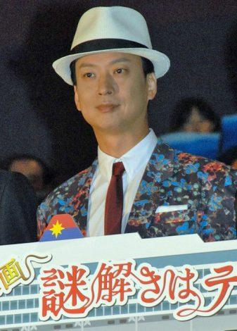 映画『謎解きはディナーのあとで』の初日舞台あいさつに登壇した椎名桔平 (C)ORICON NewS inc.