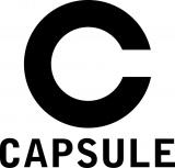 移籍に伴ってすべて大文字に表記変更した「CAPSULE」ロゴ