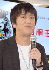 『第1回 回胴王決定戦』発表会に出席したブラックマヨネーズ・吉田敬 (C)ORICON NewS inc.