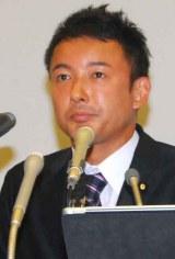 離婚を報告した山本太郎氏 (C)ORICON NewS inc.