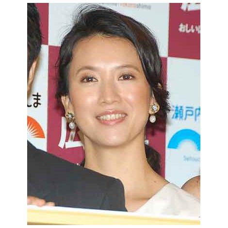 『やっぱり、おしい!広島県』記者発表会に出席した戸田菜穂 (C)ORICON NewS inc.