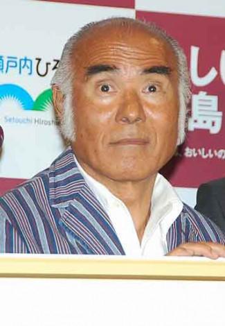 『やっぱり、おしい!広島県』記者発表会に出席した河原さぶ (C)ORICON NewS inc.