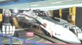 横浜・みなとみらい駅に出現した、実物大「VF-25バルキリー」 (C)ORICON NewS inc.