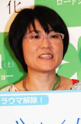 相方・大久保佳代子のブレイクを歓迎したオアシズ・光浦靖子 (C)ORICON NewS inc.