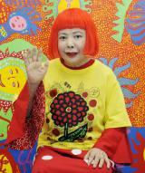 大野智と共にデザインを担当した草間彌生氏(C)日本テレビ