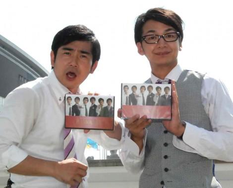 DVD『KIWAMI』発売記念トークイベントを行ったハマカーン(左から)浜谷健司、神田伸一郎 (C)ORICON NewS inc.