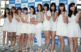 AKB48に刺激を受けたと明かしたスパガメンバー (C)ORICON NewS inc.