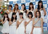 2nd写真集『スパガ!!』発売記念イベントを行ったSUPER☆GiRLS (C)ORICON NewS inc.