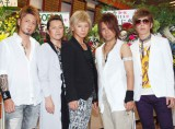 SOPHIA(左から)黒柳能生、都啓一、松岡充、赤松芳朋、豊田和貴 (C)ORICON NewS inc.