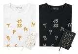 Tシャツ × ノート 限定アイテム(白・黒)