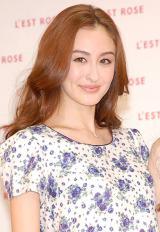 ファッションブランド『L'EST ROSE』初CM発表会に出席したオードリー亜谷香 (C)ORICON NewS inc.