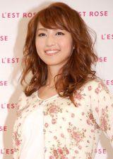 ファッションブランド『L'EST ROSE』初CM発表会に出席した有村実樹 (C)ORICON NewS inc.