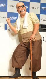『あしたのジョー』丹下段平の声を担当する山崎弘也=インクジェットプリンター『PRIVIO』新製品・新CM発表会 (C)ORICON NewS inc.