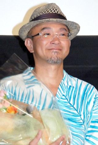 映画『共喰い』プレミア上映会舞台あいさつに出席した青山真治監督 (C)ORICON NewS inc.