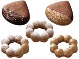 期間限定発売の『秋マロンドーナツ』シリーズ5種