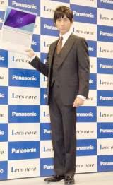 『パナソニック モバイルノートパソコン レッツノート』新製品発表会見に出席した松田翔太 (C)ORICON NewS inc.