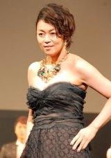 『第2回東京ボーイズコレクション』でファッションディレクターを務めた中島知子 (C)ORICON NewS inc.