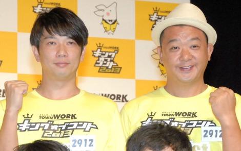 『キングオブコント2013』の決勝に進出したTKO(木本武宏・木下隆行) (C)ORICON NewS inc.