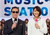 歴代最長となる5年にわたってタモリとコンビを組んできた竹内由恵アナウンサーが『ミュージックステーション』を卒業することに(C)テレビ朝日