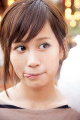 二十歳になった前田が新たな大人の魅力を放つ!