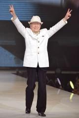 『神戸コレクション 2013 A/W』に出演した浜村淳
