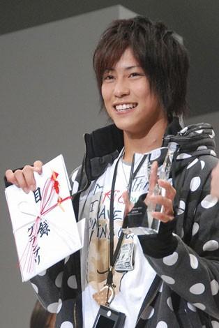 『第24回JUNON SUPERBOY CONTEST』グランプリに輝いた佐野岳さん(19歳) (C)ORICON DD inc.
