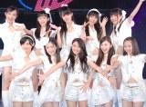 デビュー公演『PLAY×LIVE「1×0」』を行った新生・東京パフォーマンスドール (C)ORICON NewS inc.