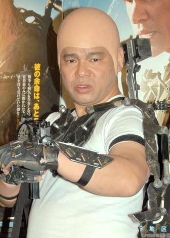 久々に芸能イベントに登場したジミー大西=映画『エリジウム』記者会見 (C)ORICON NewS inc.