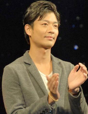 映画『劇場版ATARU』の完成披露舞台あいさつに出席した中村昌也 (C)ORICON NewS inc.