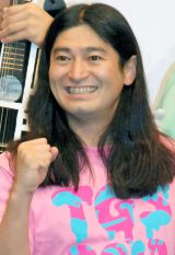 『TOKYO GAME SHOW 2013 × よしもと』コラボレーションプロジェクト発表会見に出席したハイキングウォーキング・鈴木Q太郎 (C)ORICON NewS inc.
