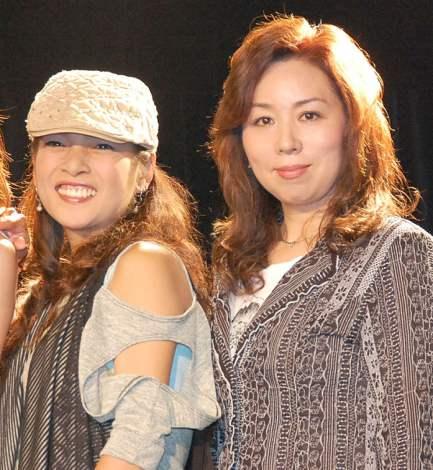 石川えりなデビュー報告イベントに出席した(左から)石井明美、渡辺敦子 (C)ORICON NewS inc.