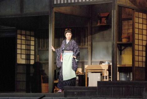 座長を務める舞台『石川さゆり特別公演』の公開けいこを行った (C)ORICON NewS inc.