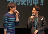 菅田将暉(右)のバースデーを祝福に駆けつけた松坂桃李