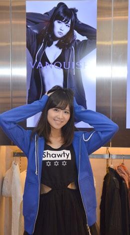 メンズファッションブランド・VANQUISHのモデルに起用されたAKB48・佐藤すみれ (C)ORICON NewS inc.