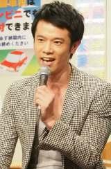 『半沢直樹』をモチーフにしたコントで主演を務める庄司智春 (C)ORICON NewS inc.