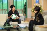 ほっそりに見えるけど、5キロ肥った状態らしい=9月10日放送の『徹子の部屋』ゲストはサッカー日本代表の内田篤人(C)テレビ朝日
