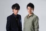 向井理(右)と綾野剛(左)の共演で新しい警察ドラマが来年1月誕生=『エス−最後の警官−』(仮)(C)TBS