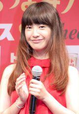 『トリスハイボールにとっても合うオリジナルチーザ』発表会に出席した吉高由里子 (C)ORICON NewS inc.