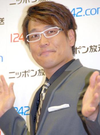 ニッポン放送・新番組発表記者会見に出席した古坂大魔王 (C)ORICON NewS inc.
