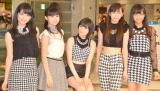 デビューイベントを行ったJuice=Juice(左から)金澤朋子、高木紗友希、宮本佳林、植村あかり、宮崎由加 (C)ORICON NewS inc.